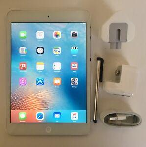 #GRADE A-# Apple iPad mini 64GB, Wi-Fi + Cellular (Unlocked), 7.9in - White