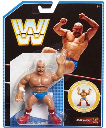 WWE The Iron Sheik Rétro App série MATTEL 8 Wrestling Action Figure Basic NXT