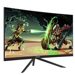 "Open Box Viotek GN27D 27"" 144Hz Gaming Curved Monitor 1440p FPS/RTS VA Panel HD"