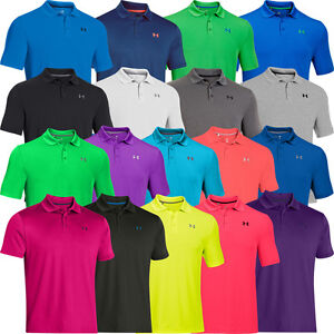 b3224307 under armour 2019 mens golf polo shirt performance 2.0 logo ...