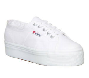 Womens Superga 2790 (L) Trainers White Trainers Shoes