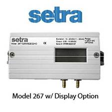 Setra 2671r25wd2ea1hd Differential Pressure Transducer 0 25 Wc Lcd Dis 0 10
