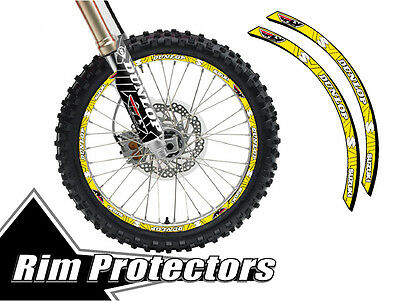 Senge Graphics Podium Blue rim protector set for one 18 inch rim and one 21 inch rim
