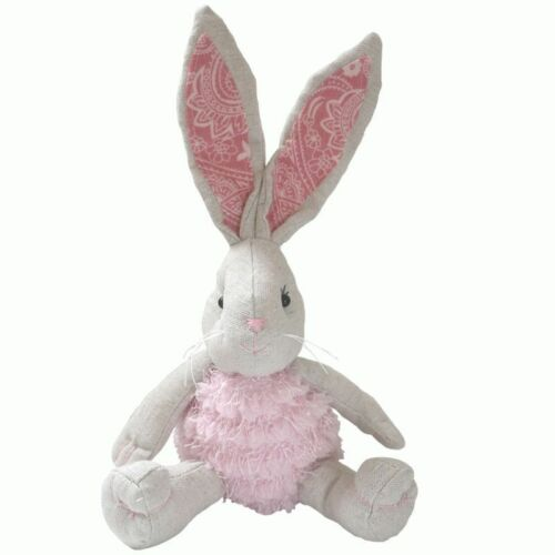 Easter Plush Rabbit Doll Toy Kids Soft Cute Kawaii Stuffed Bunny Toys Gift 25cm