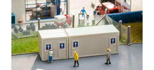 HO Scale Buildings 130131 Site Toilet Containers