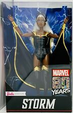 IN HAND 2019 Marvel Barbie Doll STORM 80 Years X-Men Collectible Signature NEW