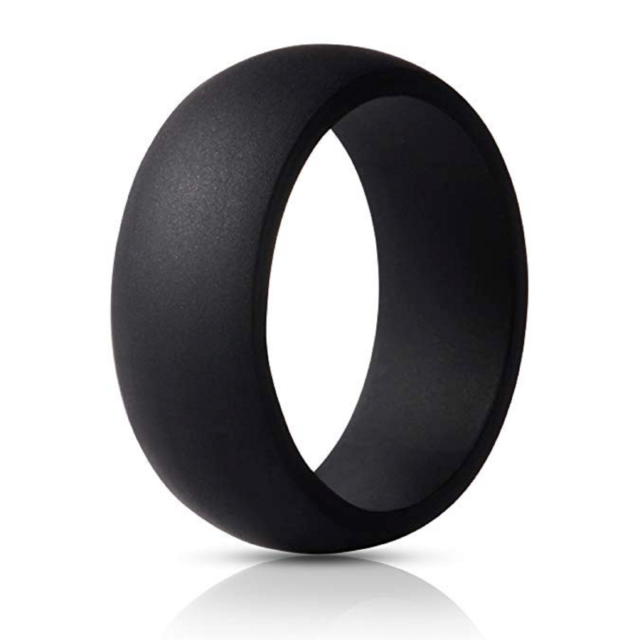 Silicone Wedding Band Premium Ring Men Flexible Antibacterial