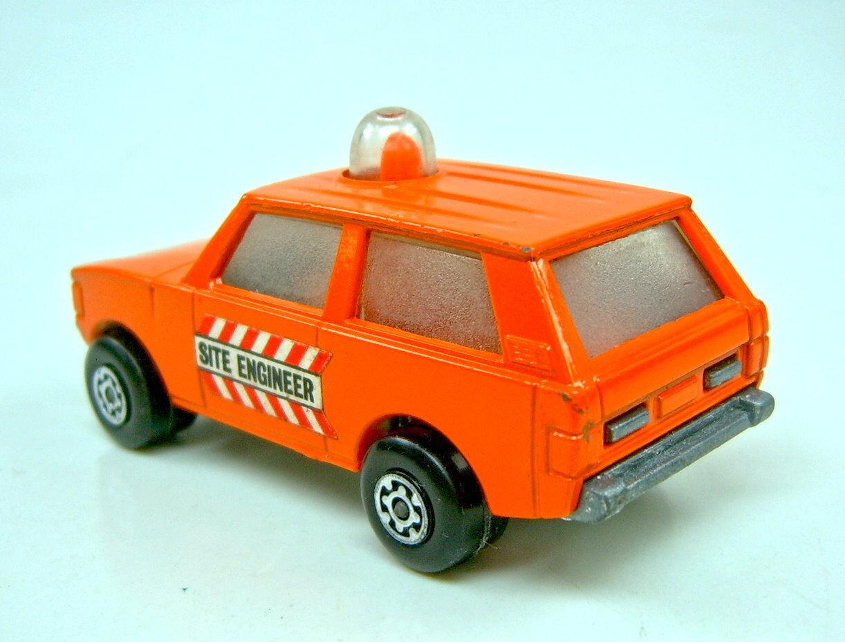 Matchbox Superfast no 20b 20b 20b police patrol naranja  site Engineer  Giftset variante a5d5c6