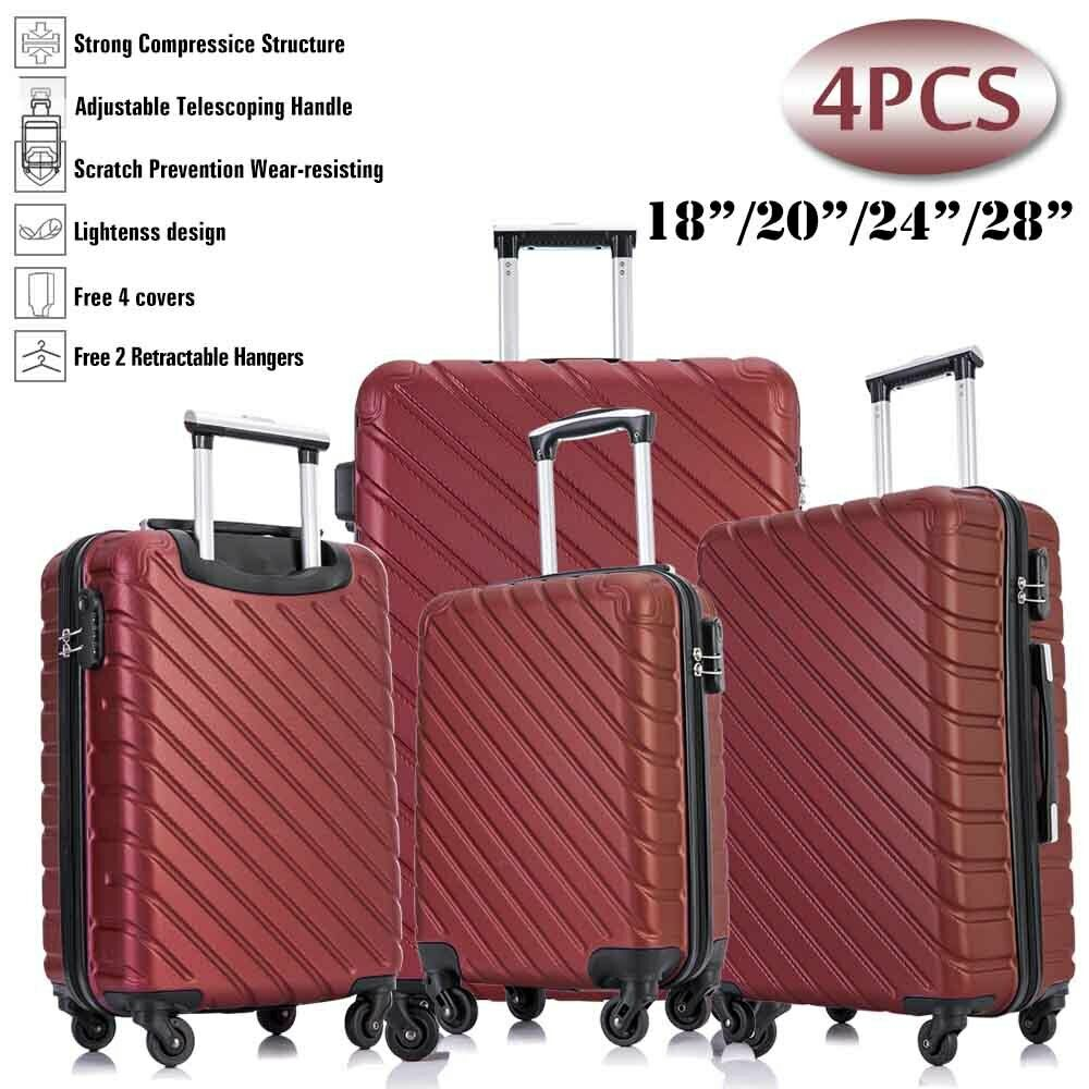 18//20//24//28 Inch Travel Luggage Cover Suitcase Protector Zipper Carry On Covers
