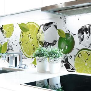 Kuechenrueckwand-Limetten-Eiswasser-Premium-Hart-PVC-0-4-mm-selbstklebend
