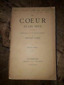 GODET-PHILIPPE-LE-COEUR-ET-LES-YEUX-PREMIERES-ET-NOUVELLES-POESIES-1885