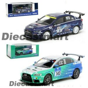 Tarmac-Works-1-64-Mitsubishi-Lancer-Evolution-EVO-X-Diecast-Model-Car-New-in-Box