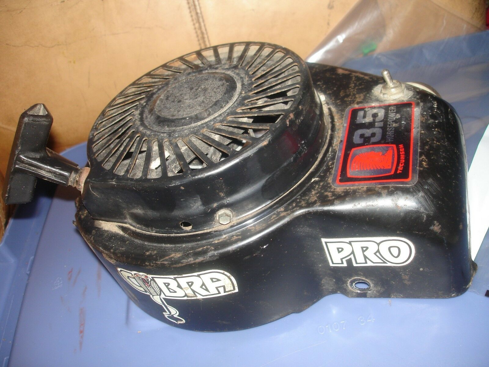 Strikemaster Cobra pro 3.5 hp recoil ice auger part