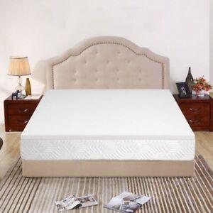 Buy 2 Inch Memory Foam Mattress Topper Twin Spa Sensations Comfort