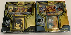 Pikachu /& Zekrom Pokemon TCG GX League Battle Deck Reshiram /& Charizard