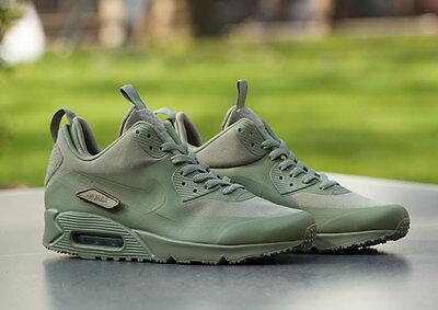 Nike Air Max 90 Sneakerboot SP 'Patch' Steel GreenSteel Green 704570 300 | eBay