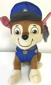 Paw Patrol Plush Chase Stuffed Plush  Xlarge 14'' Licensed Doll Toy . New. Soft