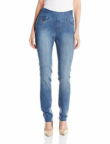 NWT Jag Jeans Women's Malia Stretch Slim Pull-On Jean MSRP