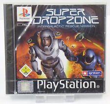 PS1 Playstation 1 - Super Dropzone Intergalactic Rescue Mission - NEU NEW OVP