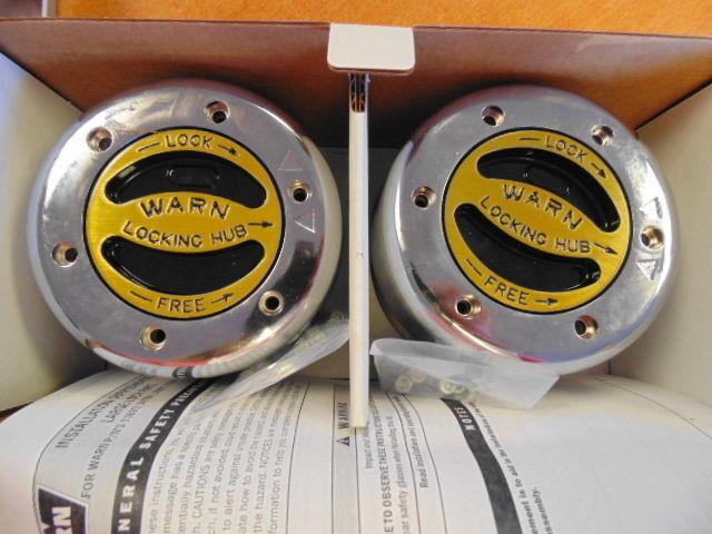 Warn 38826 Premium 4WD Manual Locking Hubs Car & Truck Parts Auto ...