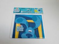 Blues Clues Party Plastic Gift Bags Loot Bags -- Package Of 8 - Party Supplies
