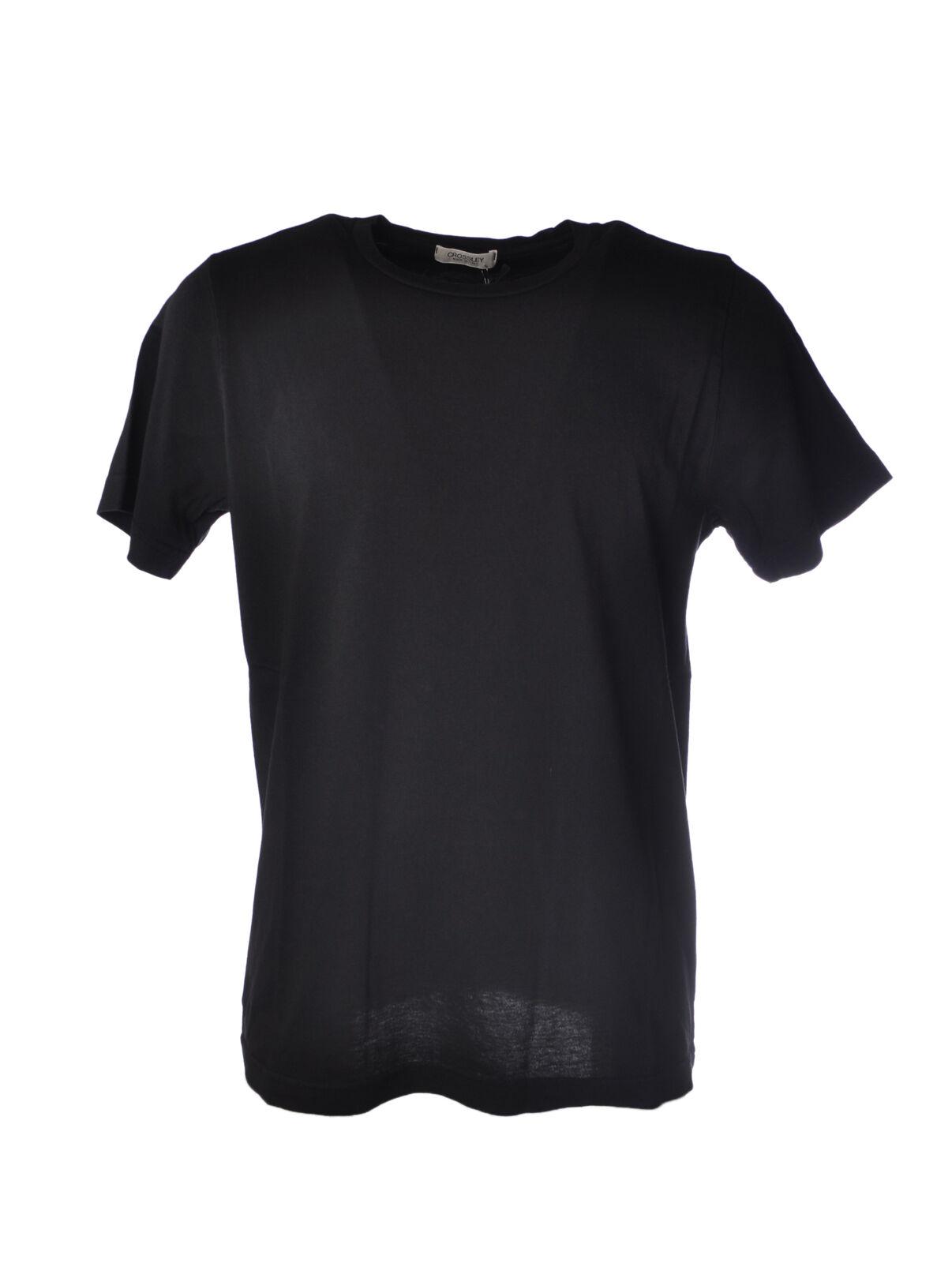 CROSSLEY - Topwear-T-shirts -  Herren - Nero - 5029606C183926
