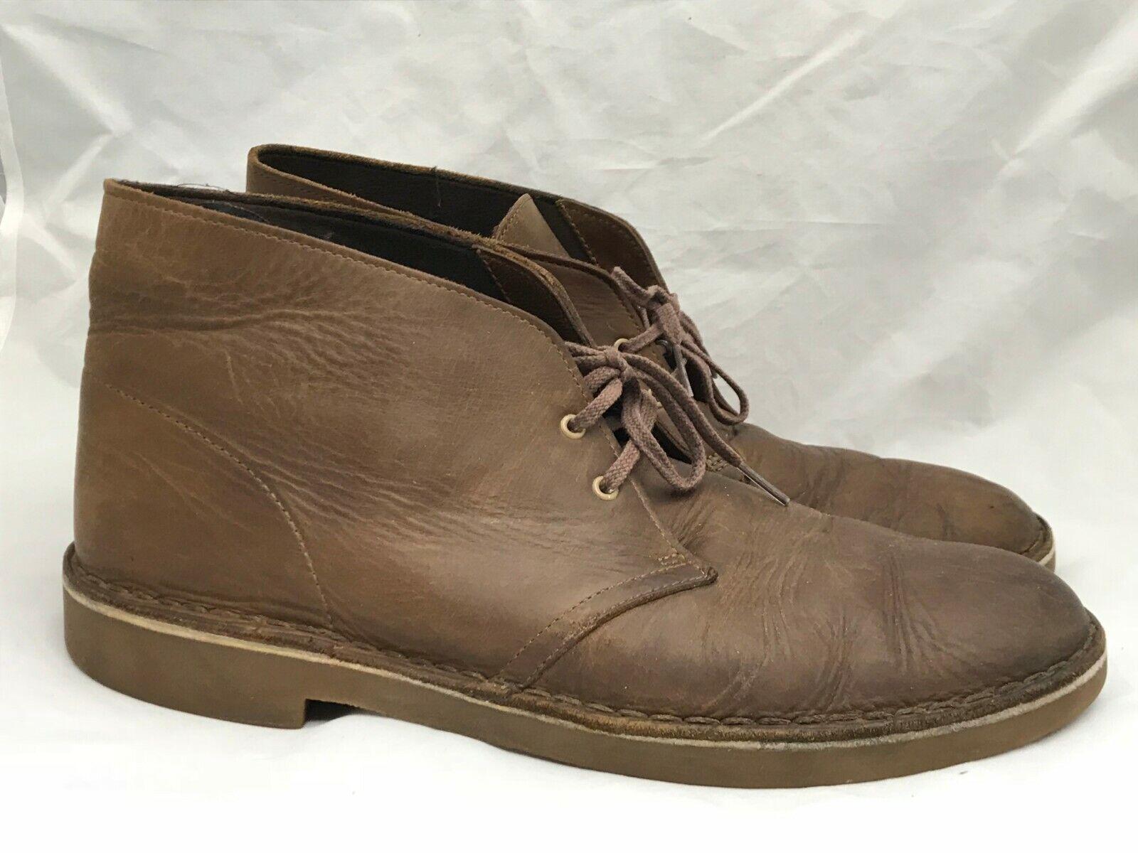 Stiefel Width Medium US 12 Größe Men's Chukka Leather braun