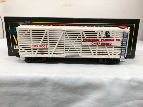 Chief Brand Boxcar SPX 2001 Limited Edition 1 of 300 Weaver Shamokin Packing Co