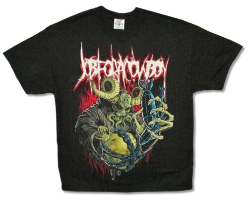 Job For A Cowboy Who/'s Next Black T Shirt New Official Band Merch