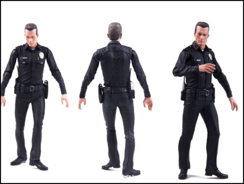 Terminator 2 Judgment Day T-1000 Galleria Mall PVC Model Action Figures Toy Gift