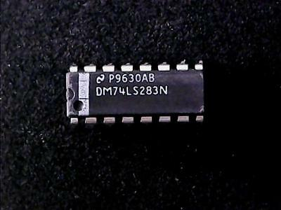 NATIONAL DM74LS283N 4 Bit Binary serpent avec Fast Carry Qty = 2
