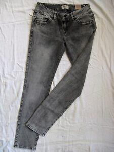 LTB-Molly-Damen-Jeans-Denim-W32-L34-Stretch-Roehre-low-waist-super-slim-fit-tube