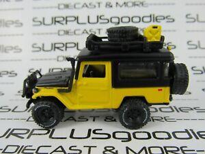 Johnny-Lightning-1-64-Scale-LOOSE-Yellow-1980-TOYOTA-LAND-CRUISER-FJ40-Hardtop