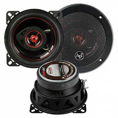 4x6 Car Audio Stereo Speakers Pair.4way gm stereo Replacements.4ohm.auto 2 NEW