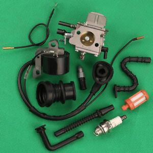 Carburateur-Pour-STIHL-066-MS660-MS650-064-065-Tronconneuse-Bobine-D-039-allumage-Intake-Boot