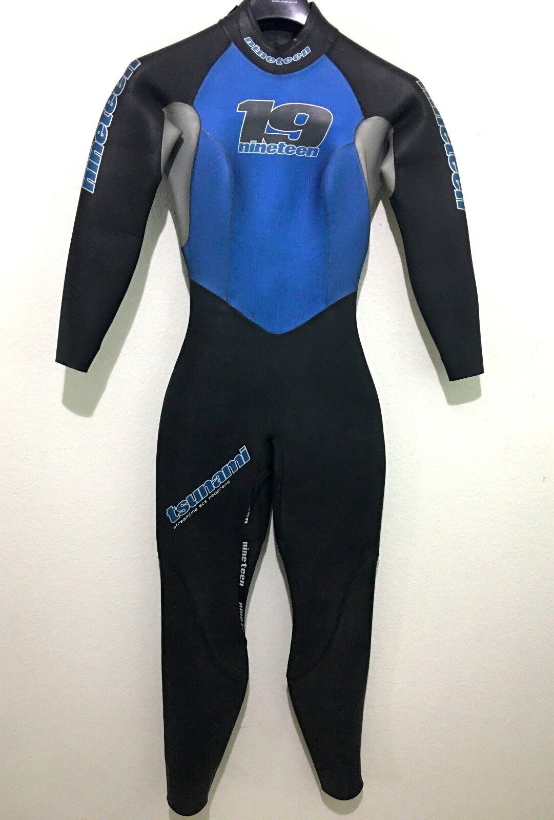 Nineteen 19 Womens Triathlon Wetsuit Tsunami Full Suit Size Small S Retail