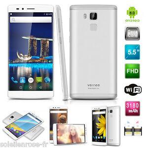 """Débloqué 5.5"""" Vernee Apollo Lite 4G 4Go+32Go EU téléphone portable Smartphone FR"""
