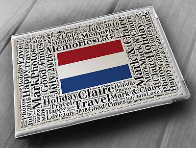 "memory book Personalised photo album Holland holiday 6x4/"" photos"