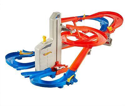 Hot Wheels FXN21 Auto Lift Expressway Track Set mit