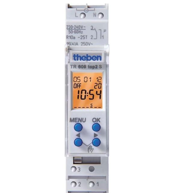 THEBEN TR 608 top2 S 6080101  Interruttore orario digitale