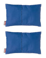 Coleman Camping Compact Fold N' Go Poly/cotton Travel Pillows (2 Pack)