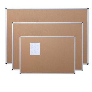 Cork Notice Message Board Aluminium Frame Office Memo