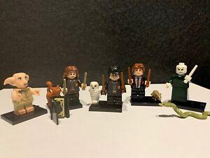 Harry Potter Custom Brick Bundle X5 Compatible Minifigures ! UK Stock !