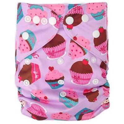 Reusable Modern Cloth Nappies Diaper Modern Nappy MCN ECO OSFM Cup Cake