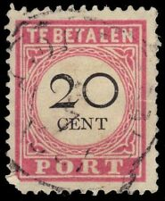 """NETHERLANDS INDIES J18a (Mi P15iii) - Numeral of Value """"Postage Due"""" (pa39190)"""