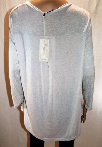Light Grey Pull 16 Top Sleeve Bnwt Over Long Flower Brand Size sr59 7EwgqnXg5