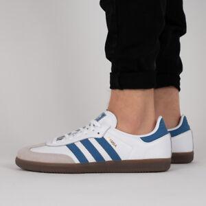 2346213cc97 La foto se está cargando Para-Hombres-Zapatos-Tenis-Adidas-Originals-Samba -og-
