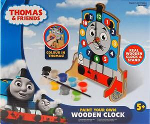 Thomas The Tank Engine Paint Your Own Wooden Clock