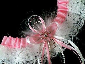 PLUS SIZE Love PINK WHITE LACE GARTER BELT Prom Wedding LINGERIE ...