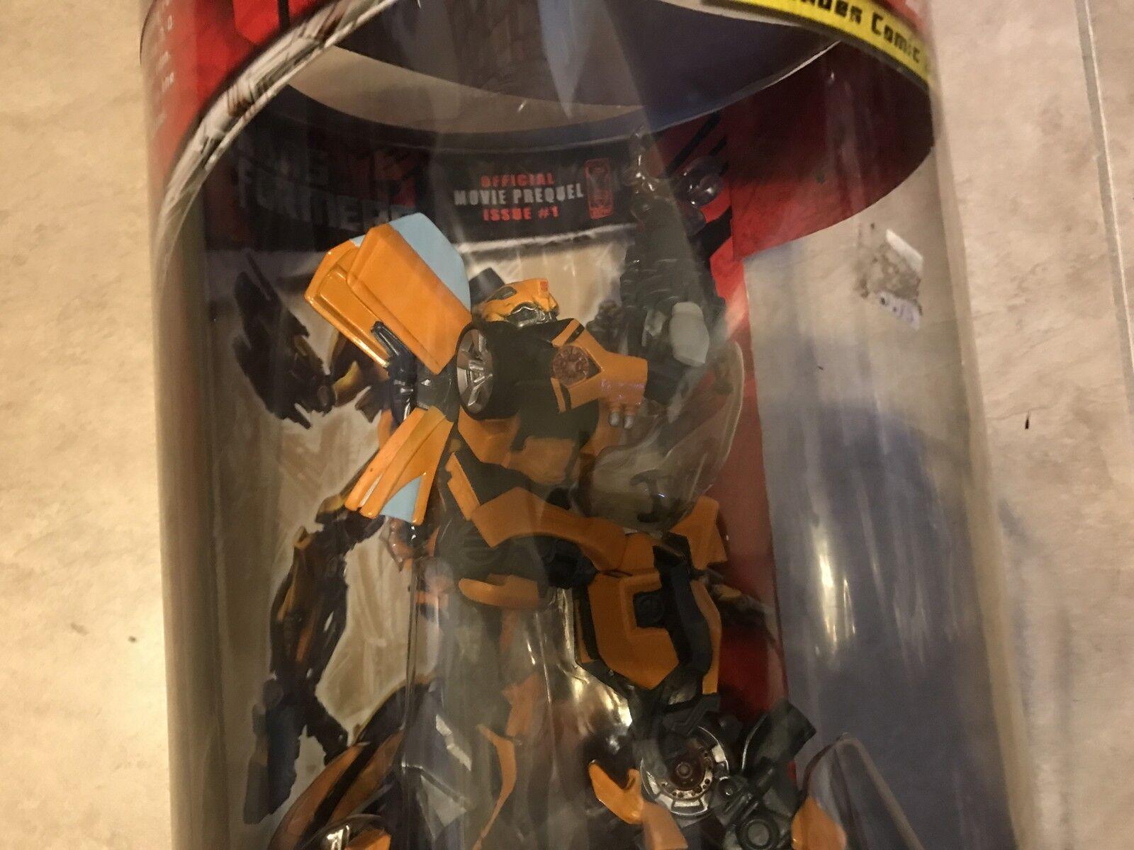 Transformers Bumblebee Autobot Unleashed w  Exclusive Comic Book Figure Figure Figure NEW 4c7672